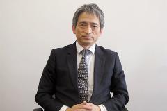 共和薬品工業の角田社長