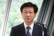 発表する楽木理事長